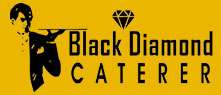 black diamond caterer logo